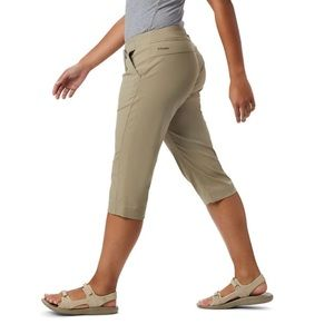 Columbia Anytime Outdoor Capri Pants Tan Beige